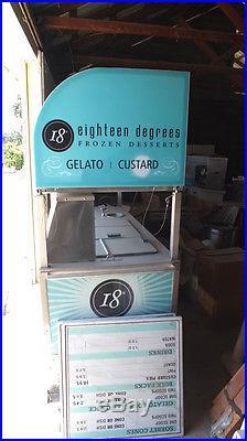 Nelson Ice Cream/Gelato Mobile Scooping Cart Model #DB6CE