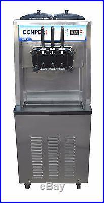 New Commercial Soft Serve Ice Cream Frozen Yogurt Machine