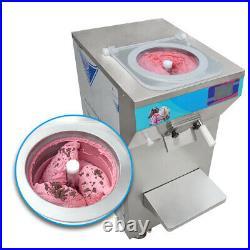 New Commercial Vertical Feed+Mix Gelato Hard ice Cream Machine Batch Freezer
