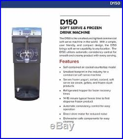 New Donper D-150 Personal Size Soft Serve Ice Cream Frozen Yogurt Machine