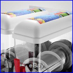 New Electric Frozen Drink Slush Slushy Making Machine 2 Tank 30L Up