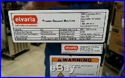 New! Elvaria 515-TW Soft Serve Frozen Yogurt, Ice Cream, Gelato, Italian Ice