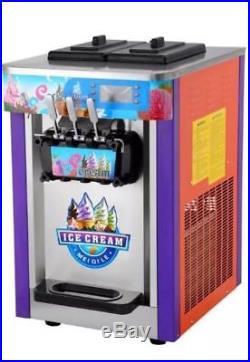 New Ice Cream Machine Triple Head
