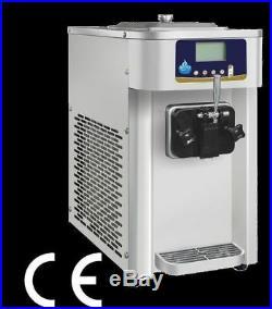 New Mini Commercial Single Flavor 7L Soft Serve Ice Cream Machine BI