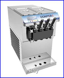 New Ultra Compact Two Flavor withTwist Soft Serve Ice Cream Frozen Yogurt Machine