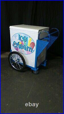 New Vendor Ice Cream Push Cart withUmbrella Graphics Good Humor Novelty