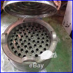 New XL 60 Tubes Thai Vintage Ice Cream Makers Pop Popsicles Pot Stainless Bin
