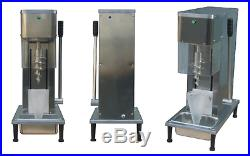 New yogurt fruit ice cream blender/mixer machine with cone cup 110v/220v