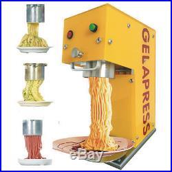 Noddles ice cream machine make italian gelato spaghetti