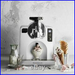 Nostalgia FDM1 Ice Cream Machines Soft Serve Frozen Dessert Machine, Stainless