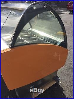 Oscrtielle Gelato Display Case- 12 Pan