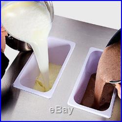 PINK! Ice Cream Cones Machine Soft Serve Ice Cream Frozen Yogurt Maker 3 Flavors