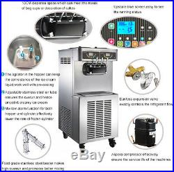 Pasmo S-520F Frozen Yogurt Gravity Feed Double Control System PASMOUS. WELCOMED
