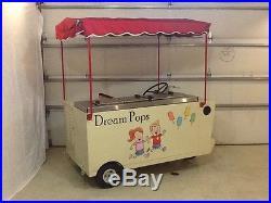 Popsicle Ice Cream cart