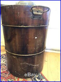 Primitive antique Vintage EXTREMELY RARE Ice Cream Maker Machine WOW! WONT LAST