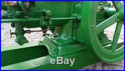 Rebuilt Running John Deere 1-1/2 hp Hit Miss Engine Ice cream machine 1.5 HP