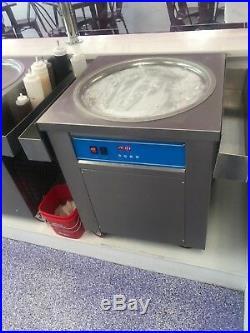 Rolled Ice Cream Cold Machine
