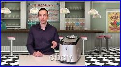Royal Brew Ice Cream Maker 1.5 Quart Upright Frozen Yogurt Sorbet Gelato Machine