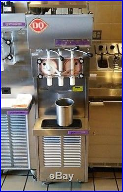 STOELTING 237R WATER COOLED 2 FLAVOR + TwistSOFT SERVE ICE CREAM MACHINE + More