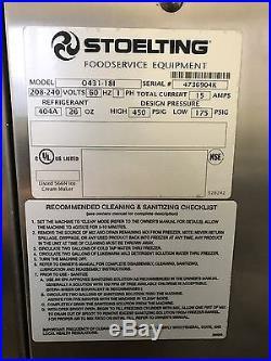 Stoelting Soft Serve Pressurized Twist Freezer Ice Cream Machine