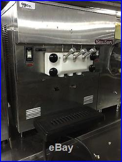 SaniServ 501 Countertop Twist Soft Serve Ice Cream Machine