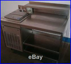 Silver King SS 50 Ice Cream Dipping Cabinet Freezer Work Station with Dipper Well