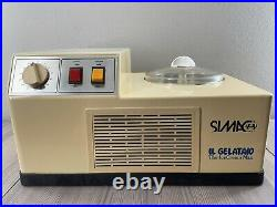 Simac IL Gelataio 1600 Ice Cream Man Gelato Maker Machine Tested and Working