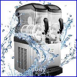 Slushy Machine Daiquiri Machine Commercial 2 x 6L Home Slush Machine Two Tanks