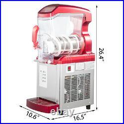 Slushy Machine Daiquiri Machine Commercial 6L Home Slush Machine Single Tank