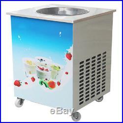Smart Thai fried ice cream roll machine single 36 cm pan fry pan ice cream(110V)