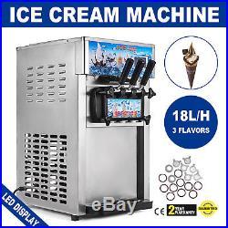 Soft Ice Cream Machine Frozen Yogurt Machine Mix Flavor 1200W