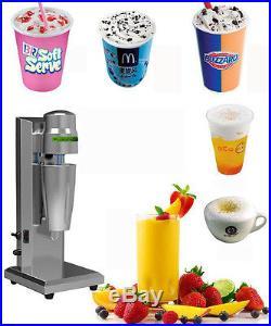 Soft Ice Cream Speed Mixer Milkshake Cyclone Machine Commercial/Household Use