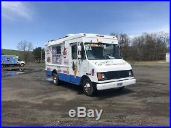 Soft Ice Cream Truck Workhorse Stepvan Electro Freeze Yanmar