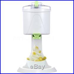Soft Serve DIY Ice Cream Maker Yogurt Sorbet Machine Home Kitchen For Kids