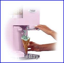 Soft Serve Frozen Ice Cream Maker Mix Yogurt Sorbet Freezer Cold Fun Easy Clean