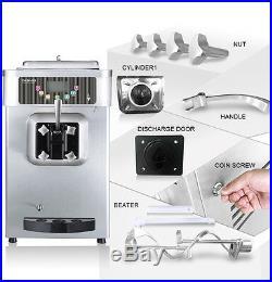 Soft Serve Frozen Yogurt / Ice Cream Machine PASMO S110F Single Head Agitator