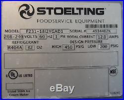 Soft Serve Frozen Yogurt / Ice Cream Machines 2013 Stoelting F231(5 available)