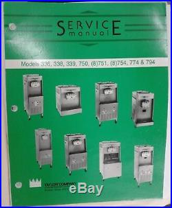 Soft Serve Ice Cream Machine Taylor Y754-33 3-Phase, Dual-Barrel, Water-Cooled