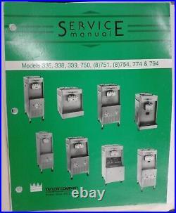Soft Serve Ice Cream Machine Taylor Y754-33 Dual-Barrel, Water-Cooled, 2 20 Qt