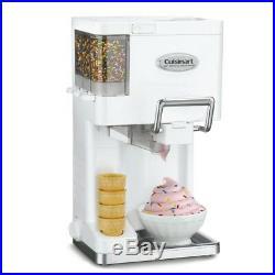 Soft Serve Ice Cream Maker Mix-It-In 1.5 Qt Yogurt Sorbet Home Dessert Machine