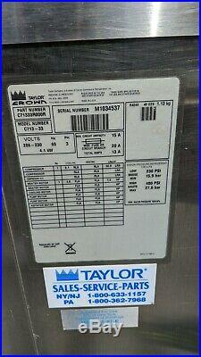 Soft Serve Ice Cream Yogurt Machine(s) Taylor C713-33 Seven (7) Available