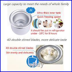 Soft Yogurt DIY Ice Cream Maker Frozen Sorbet Machine Home Restaurant For Kids