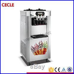 Soft pan ice cream machine 20L/H 220V/50Hz