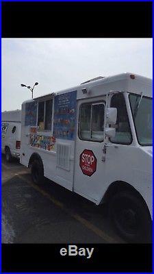 Soft serve ice cream truck