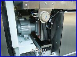 Space soft serve frozen yogurt / ice cream machine Air pump or gravity feed
