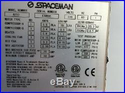Spaceman 6250H Two Flavor Soft Serve Frozen Ice Cream Machine