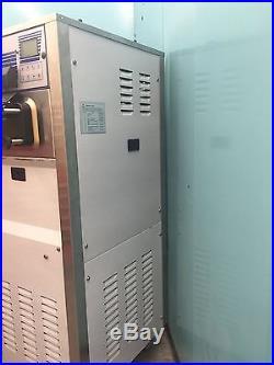 Spaceman Soft Serve Frozen Yogurt Ice Cream Machine 1 Phase Air Cooled