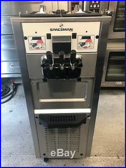 Spaceman soft serve ice cream machine 208 volts single phase air cooled