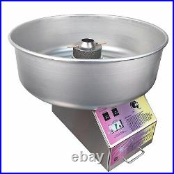 Spin magic cotton candy machine metal bowl, paragon candy floss, commercial USA