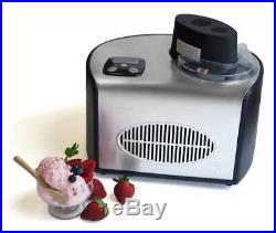 Stainless Steal Electric Ice Cream Frozen Yogurt Sorbet Gelato Machine 1.5 Quart